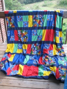 Full View of Sports Blanket